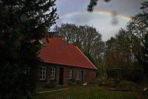 Regenboog mediteren